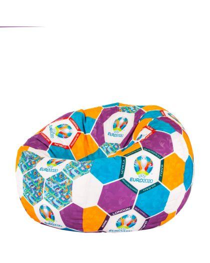 Пуф Ябълка с десен топка EURO 2020