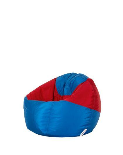 Детски пуф микс синьо и червено