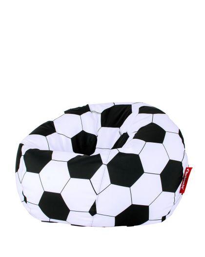 Пуф Ябълка с десен топка
